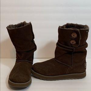 Skechers Suede Brown Boots
